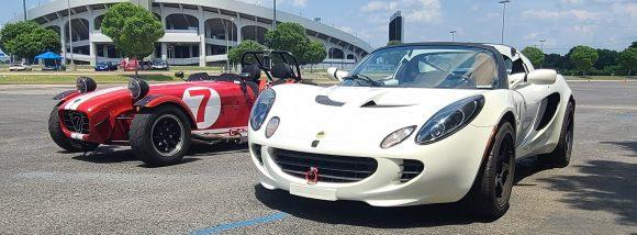 Lotus Elise and Caterham 7